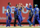 Robin Peterson took three wickets to derail the chase, Barbados Tridents v Jamaica Tallawahs, Bridgetown, June 23, 2015