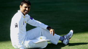 Younis Khan takes a break