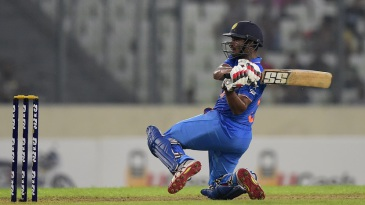 Ambati Rayudu swivels into a slog