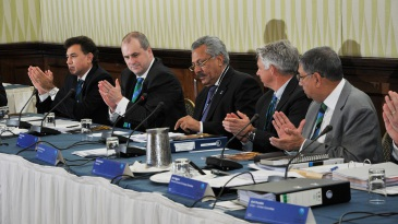 Zaheer Abbas was confirmed as ICC President at the ICC Annual Conference