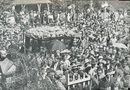 A large crowd at Archie Jackson's funeral in Sydney, February 21, 1933