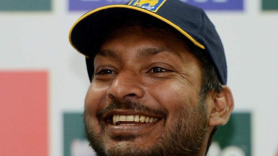 Kumar Sangakkara confirms his retirement during a press conference