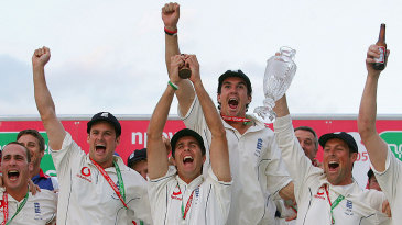 England claimed the Ashes after 18 years