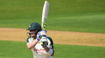 Riki Wessels offered some resistance with 65