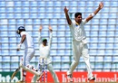 Ehsan Adil appeals unsuccessfully for an lbw, Sri Lanka v Pakistan, 3rd Test, Pallekele, 1st day, July 3, 2015