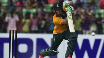 AB de Villiers opened the innings for the South Africans