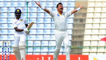 Yasir Shah completed another five-wicket haul