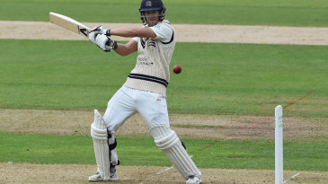 Dawid Malan held the Middlesex innings together