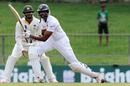 Jehan Mubarak drives the ball through the off side, Sri Lanka v Pakistan, 3rd Test, Pallekele, 3rd day, July 5, 2015