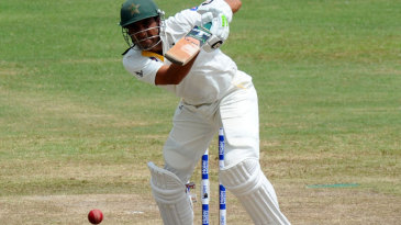 Younis Khan reached his half-century in 71 balls
