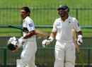 Younis Khan and Misbah-ul-Haq added an unbroken 127 for the fourth wicket, Sri Lanka v Pakistan, 3rd Test, Pallekele, 5th day, July 7, 2015