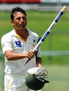 The hero: Younis Khan after his side clinched the series 2-1, Sri Lanka v Pakistan, 3rd Test, Pallekele, 5th day, July 7, 2015