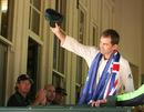 Justin Langer waves goodbye, Australia v England, 5th Test, Sydney, January 5, 2007