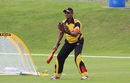 Dipak Patel during a training session with Papua New Guinea, Bready Cricket Club, July 8, 2015