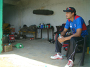 Nepal captain Paras Khadka at the HPCA Stadium, Dharamsala, May 2015