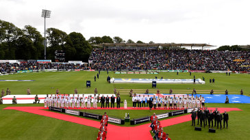 There was plenty of pomp and ceremony before the Ashes series began