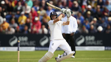 Joe Root was quick onto any width