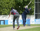 George Munsey struck 11 fours during his 36-ball 62, Scotland v United Arab Emirates, World T20 Qualifier, Group B, Edinburgh, Jul 9, 2015