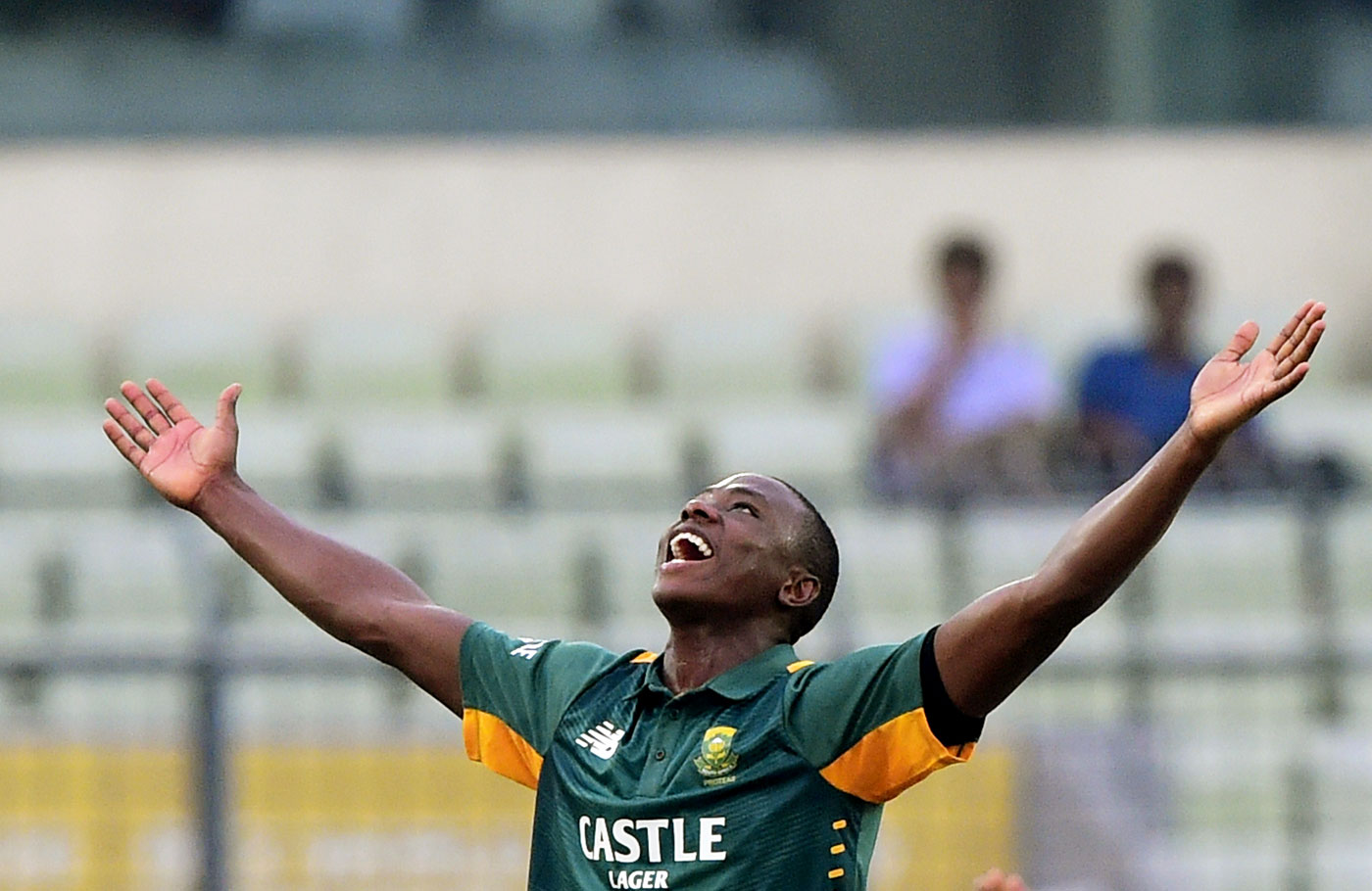 Kagiso Rabada: 'Hopefully I can even inch towards the 160kph mark