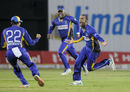 Robin Peterson picked up three wickets in one over, Jamaica Tallawahs v Barbados Tridents, CPL 2015, Kingston, July 11, 2015
