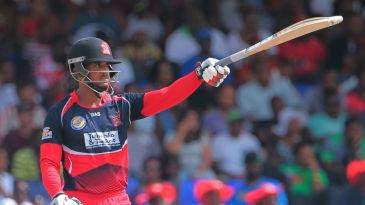 William Perkins made 64* from 43 balls