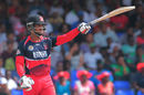 William Perkins made 64* from 43 balls,  St Kitts and Nevis Patriots v Trinidad & Tobago Red Steel, CPL 2015, Basseterre, Jul 11, 2015