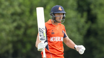 Wesley Barresi struck five sixes and seven fours during his 40-ball 75