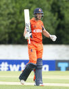 Wesley Barresi struck five sixes and seven fours during his 40-ball 75, Scotland v Netherlands, World T20 Qualifier, Group B, Edinburgh, July 11, 2015