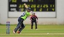 Andy Balbirnie executes a cut, Ireland v USA, World T20 Qualifier, Group A, Belfast, July 12, 2015