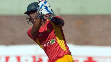 Chamu Chibhabha made a 100-ball 72