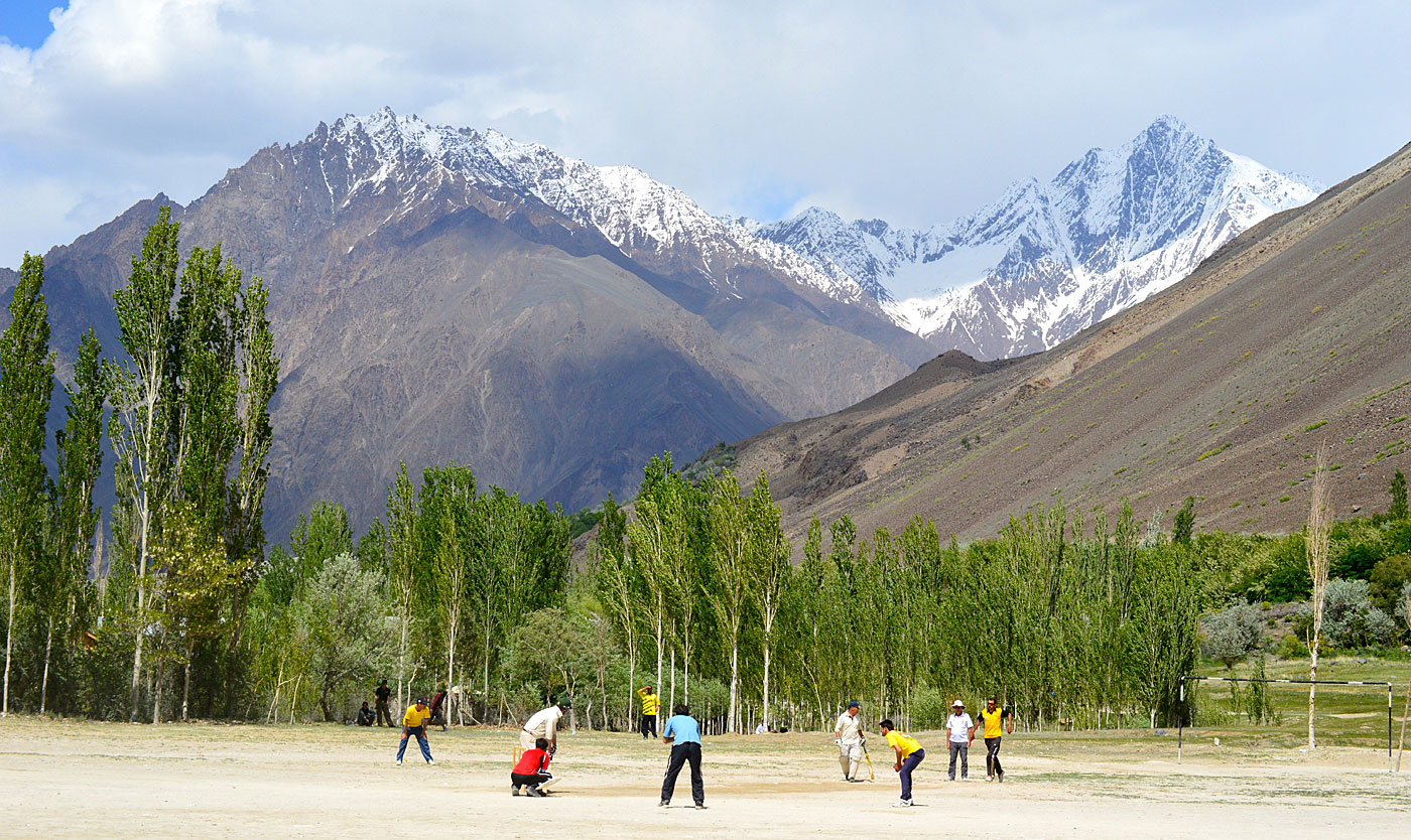 Postcard from Mastuj: the Zimbabweans were not the only cricket team visiting Pakistan in May