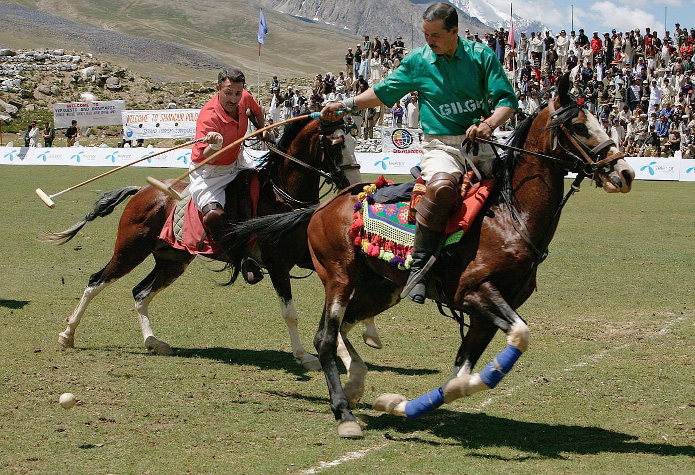 The annual polo contest at 12,000 ft on Shandur Top remains one of the world's greatest under-known sporting spectacles