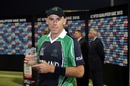 Trent Johnston was Man of the Match, Afghanistan v Ireland, ICC World Twenty20 Qualifiers, final, Abu Dhabi, November 30, 2013