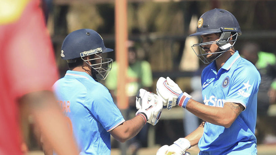 Manish Pandey and Kedar Jadhav put on 144 runs for the fifth wicket