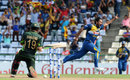 Sachith Pathirana took the wicket of Ahmed Shehzad on his ODI debut, Sri Lanka v Pakistan, 2nd ODI, Pallekele, July 15, 2015