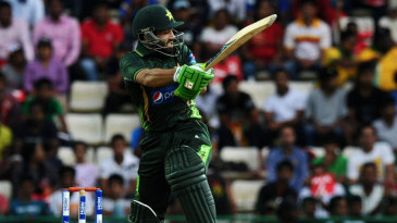Mohammad Rizwan made the third half-century of the innings