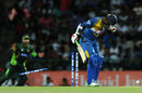 Upul Tharanga loses his off stump, Sri Lanka v Pakistan, 2nd ODI, Pallekele, July 15, 2015