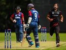 Haseeb Amjad took 4 for 16 against Nepal, Hong Kong v Nepal, ICC World T20 Qualifier, Belfast, July 15, 2015