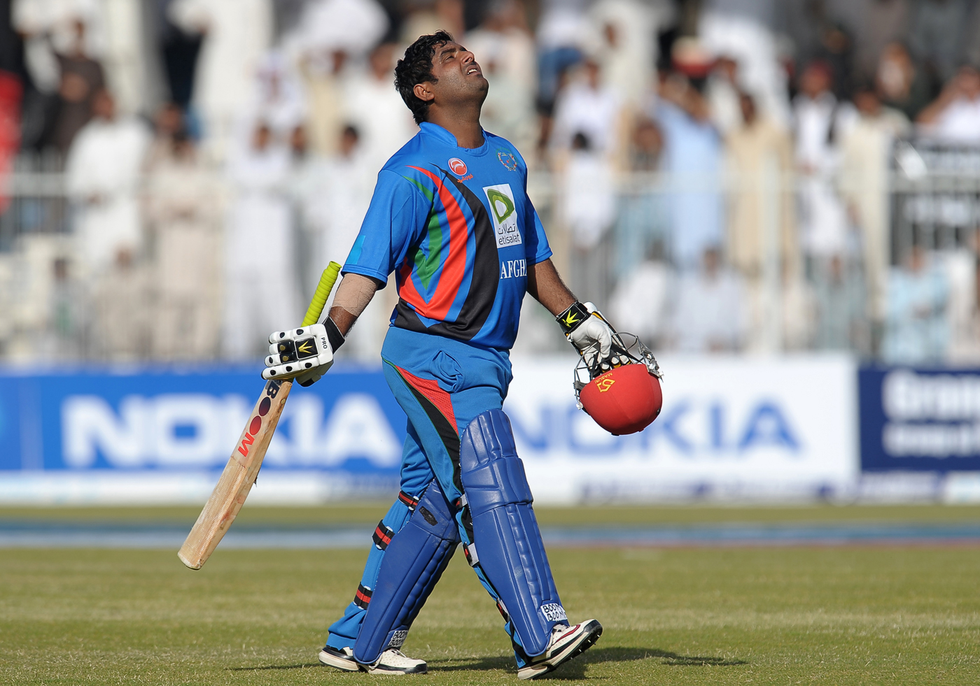 Shahzad: six and out