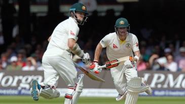 Chris Rogers and Steven Smith kept Australia ticking
