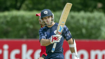 Kyle Coetzer struck five fours and two sixes in his unbeaten 51
