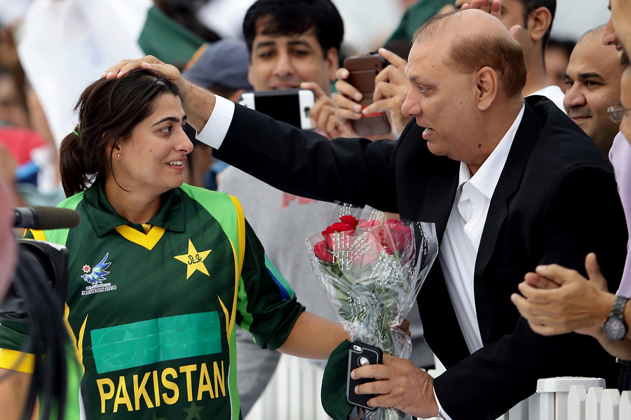 Lone star: being the sole celebrated woman cricketer in Pakistan is not something that sits comfortably with Mir