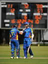 Stephan Baard and Gerrie Snyman shared a 121-run opening stand, Jersey v Namibia, World T20 Qualifier, July 17, 2015