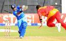 Robin Uthappa hit an unbeaten 39, Zimbabwe v India, 1st T20, Harare, July 17, 2015