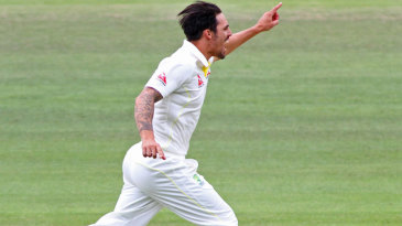 There was also immediate success for Mitchell Johnson