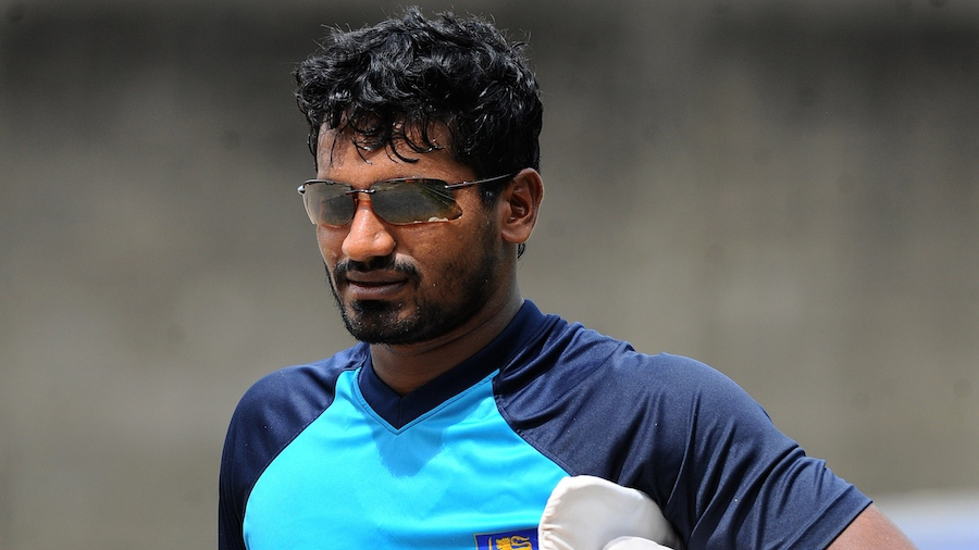 Kusal Perera has survived a side strain. (Getty)