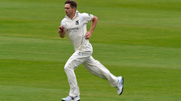 Chris Woakes continued his comeback after injury