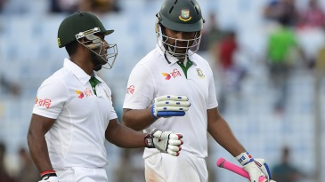 Tamim Iqbal and Imrul Kayes walk back unbeaten at stumps