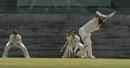 Abhinav Mukund was bowled by Andrew Fekete in the second over, India A v Australia A, 1st unofficial Test, Chennai, 1st day