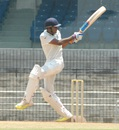 Vijay Shankar remained unbeaten on 51, India A v Australia A, 1st unofficial Test, Chennai, 2nd day